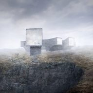 Reiulf Ramstad and Dualchas design cliffside visitor centre for Scottish island