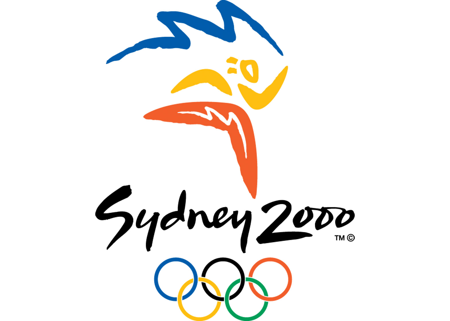 Logo of the 2000 Sydney Olympics
