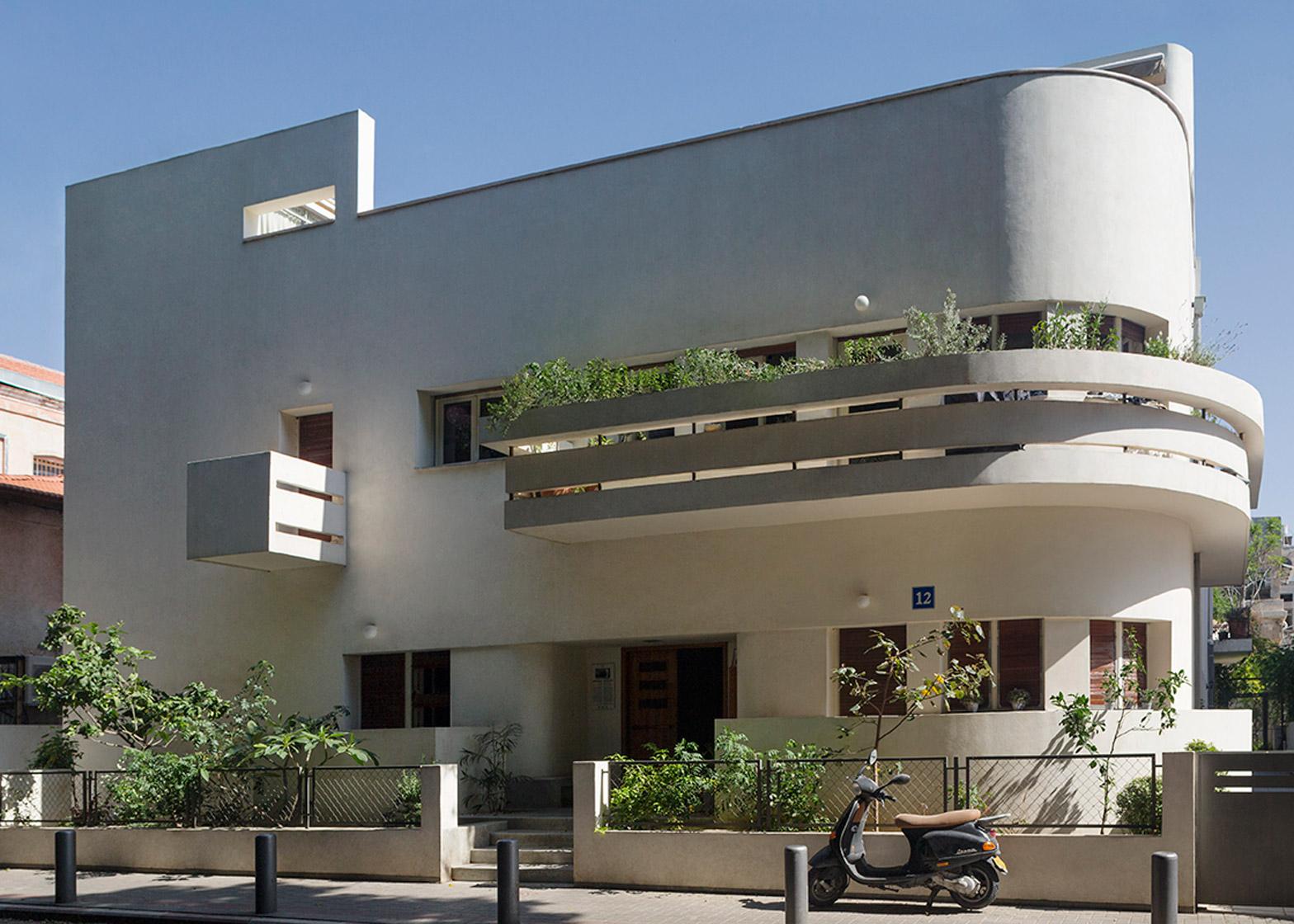 Avraham Soskin House, 12 Lilienblum Street by Zeev Rechter, 1933