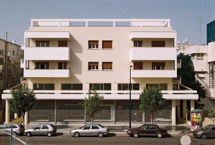 Dr Leon Pines House, 79–81 Yehuda Halevi Street by Yitzhak Rapoport, 1938