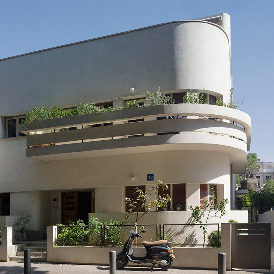 10 of tel aviv s best examples of bauhaus residential for Architecture bauhaus
