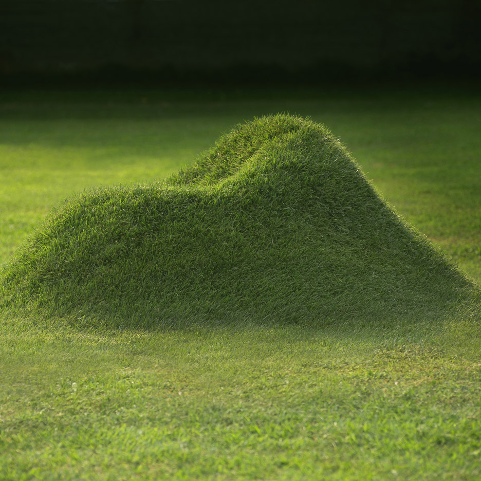 Terra grass chair by Nucleo