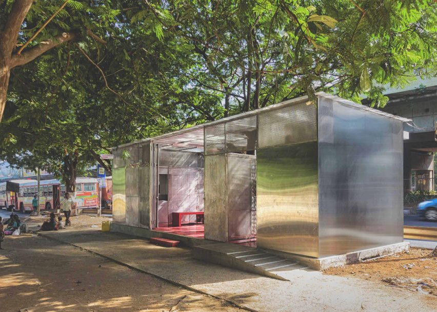 The Light box a restroom for women by Rohan Chavan
