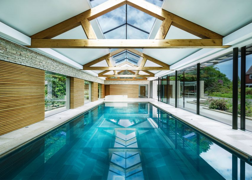 12 Of 12; The Pool House In Haslemere By Re Format