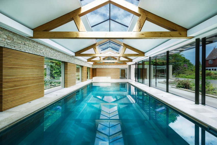 The Pool House In Haslemere By Re Format