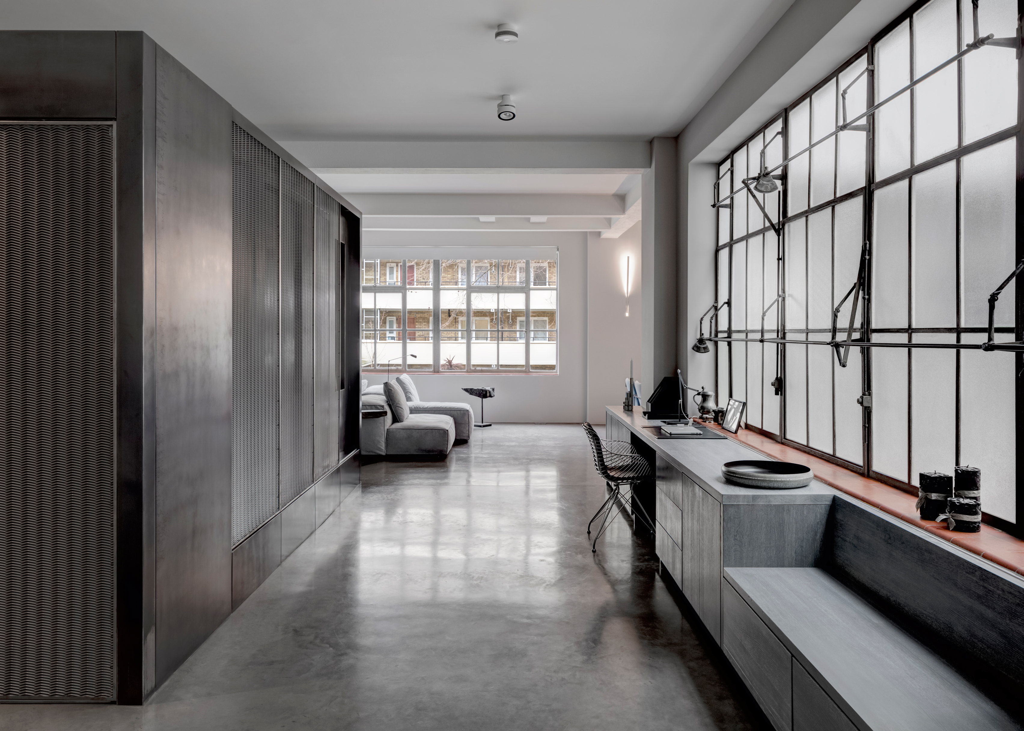 APA designs theatrical apartment for two directors