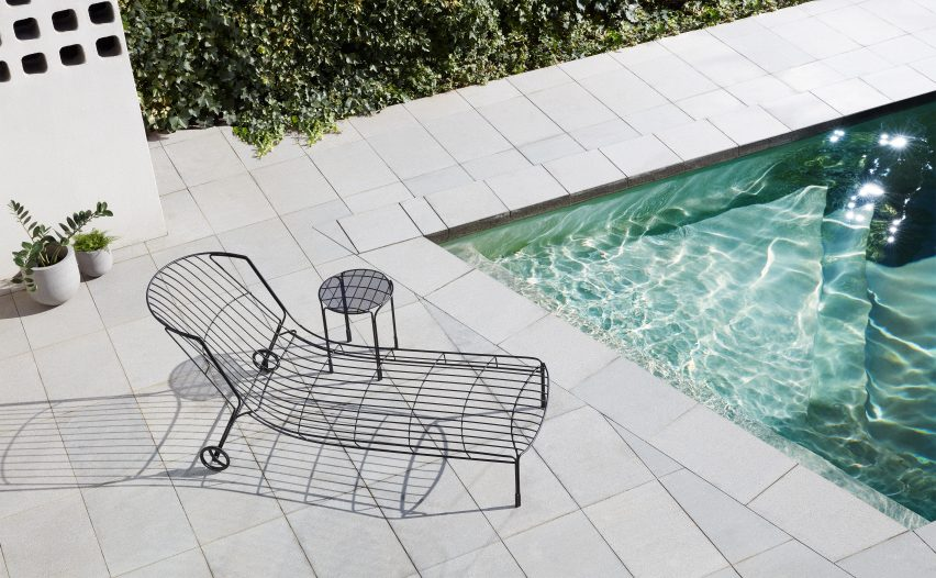 Tidal sunlounger by Trent Jansen