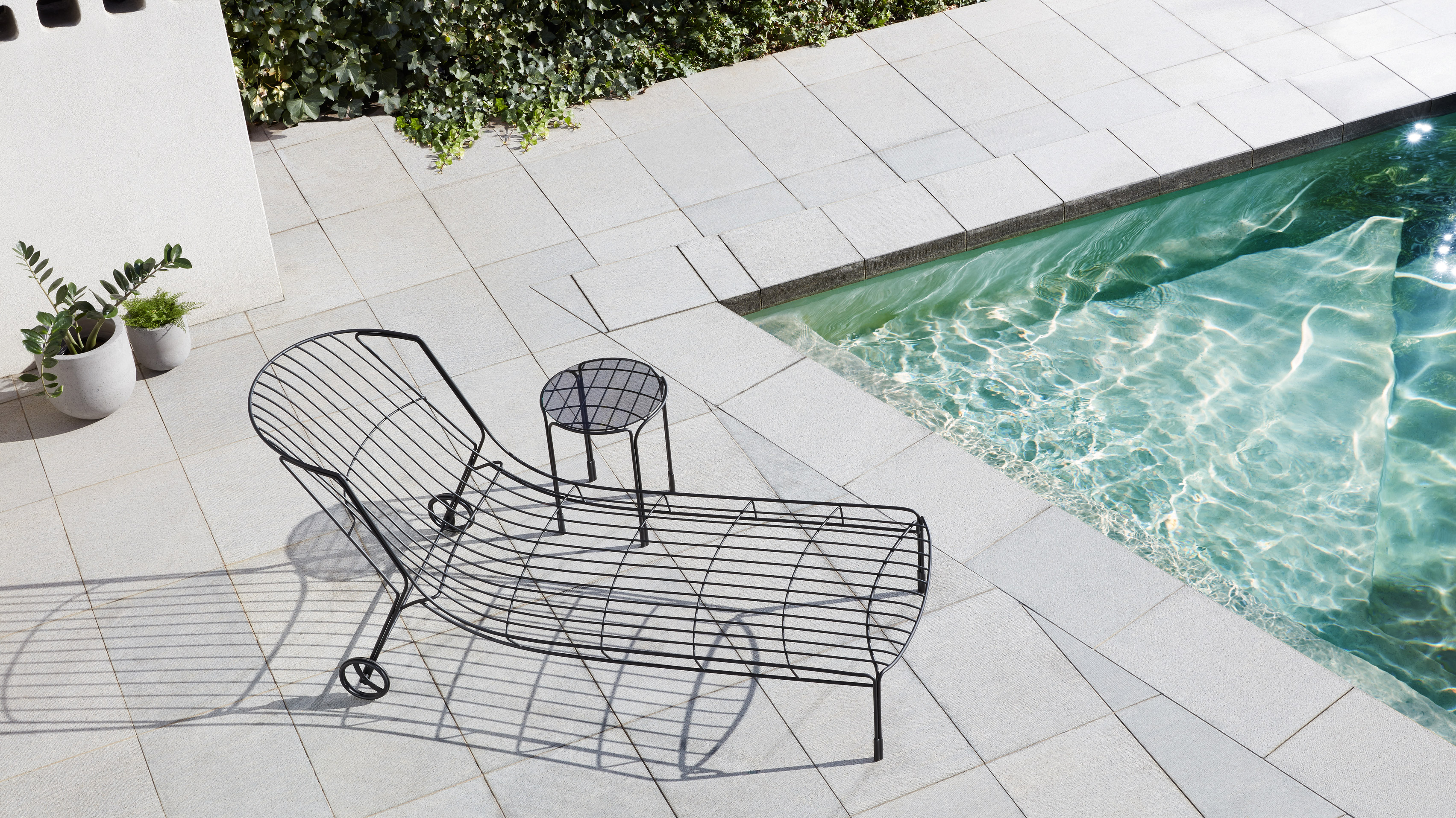 Trent Jansen Designs Tidal Sunlounger To Capture The Mood Of A 1970s  Australian Summer