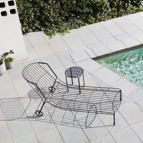 Trent Jansen designs Tidal sunlounger to capture the mood of a 1970s Australian summer