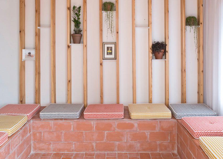 rocha apartment in barcelona by casa 8 of 10 - Terra Cotta Tile Apartment 2015