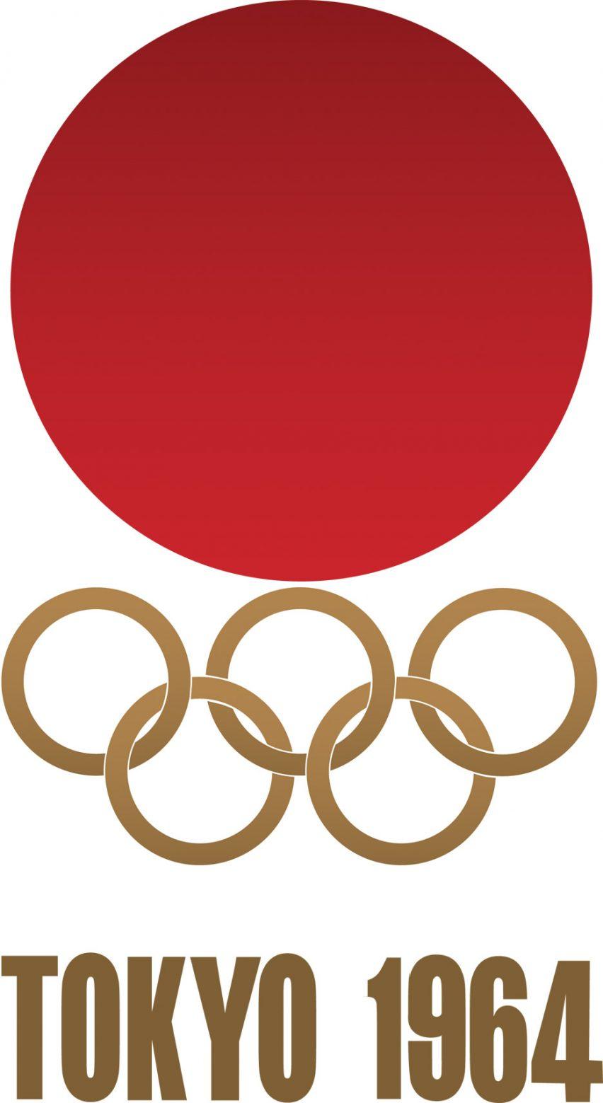 Logo of the 1964 Tokyo Olympics