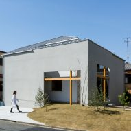 Uji House by Alts Design Office features a deliberately complex layout