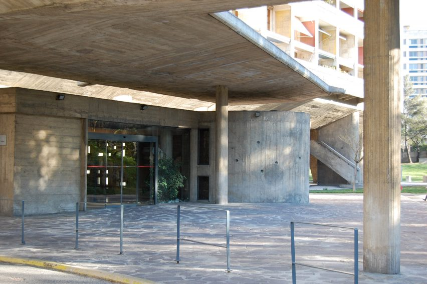Cité Radieuse by Le Corbusier