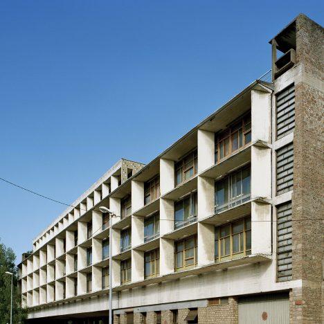 Le Corbusier's Claude et Duval Factory demonstrates his Modulor proportion system