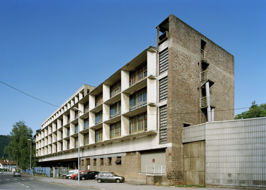 Usine Claude et Duval by Le Corbusier