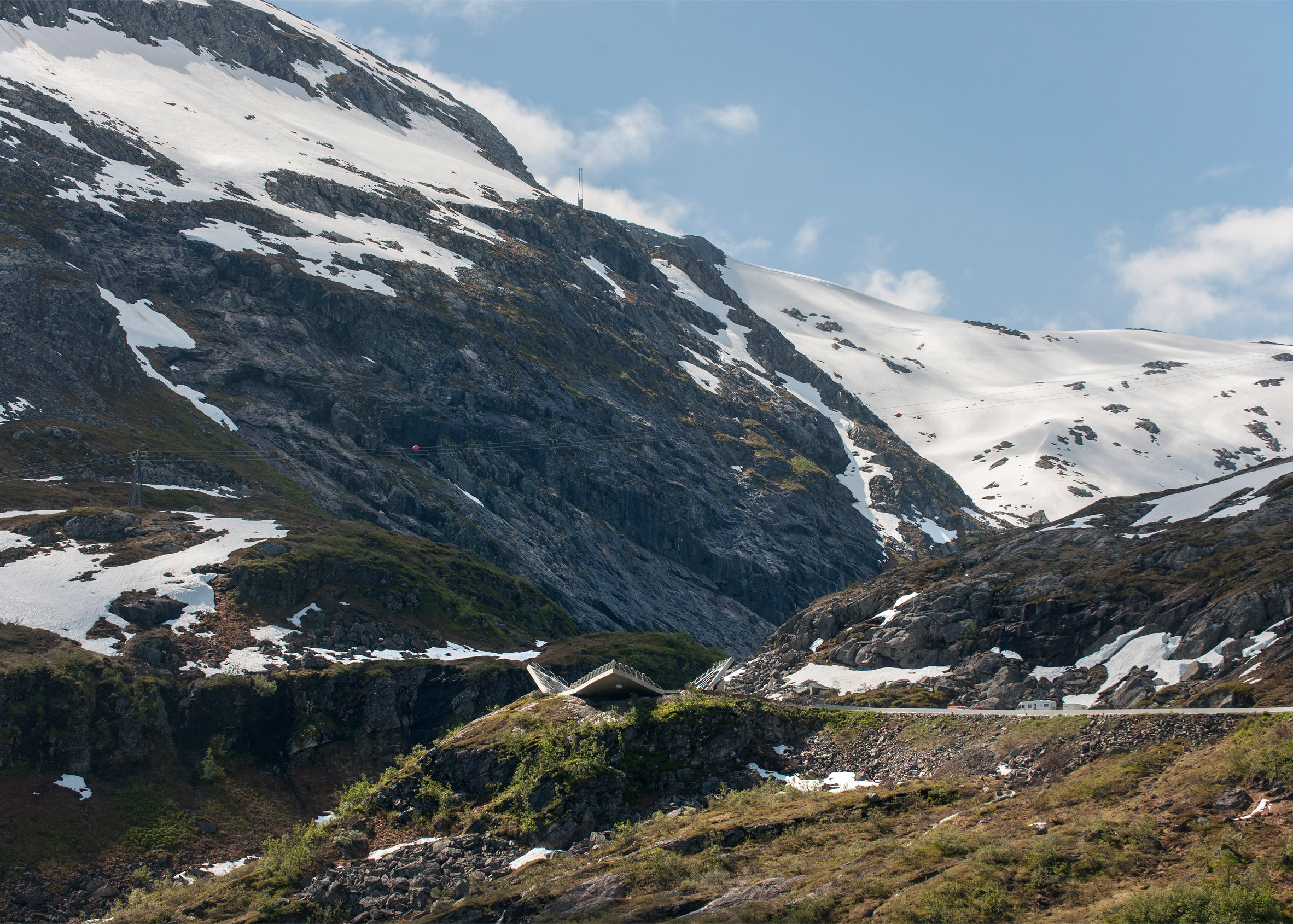 Utsikten tourist route in Norway