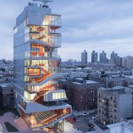 Iwan Baan photographs Diller Scofidio + Renfro's Vagelos Educational Building in New York