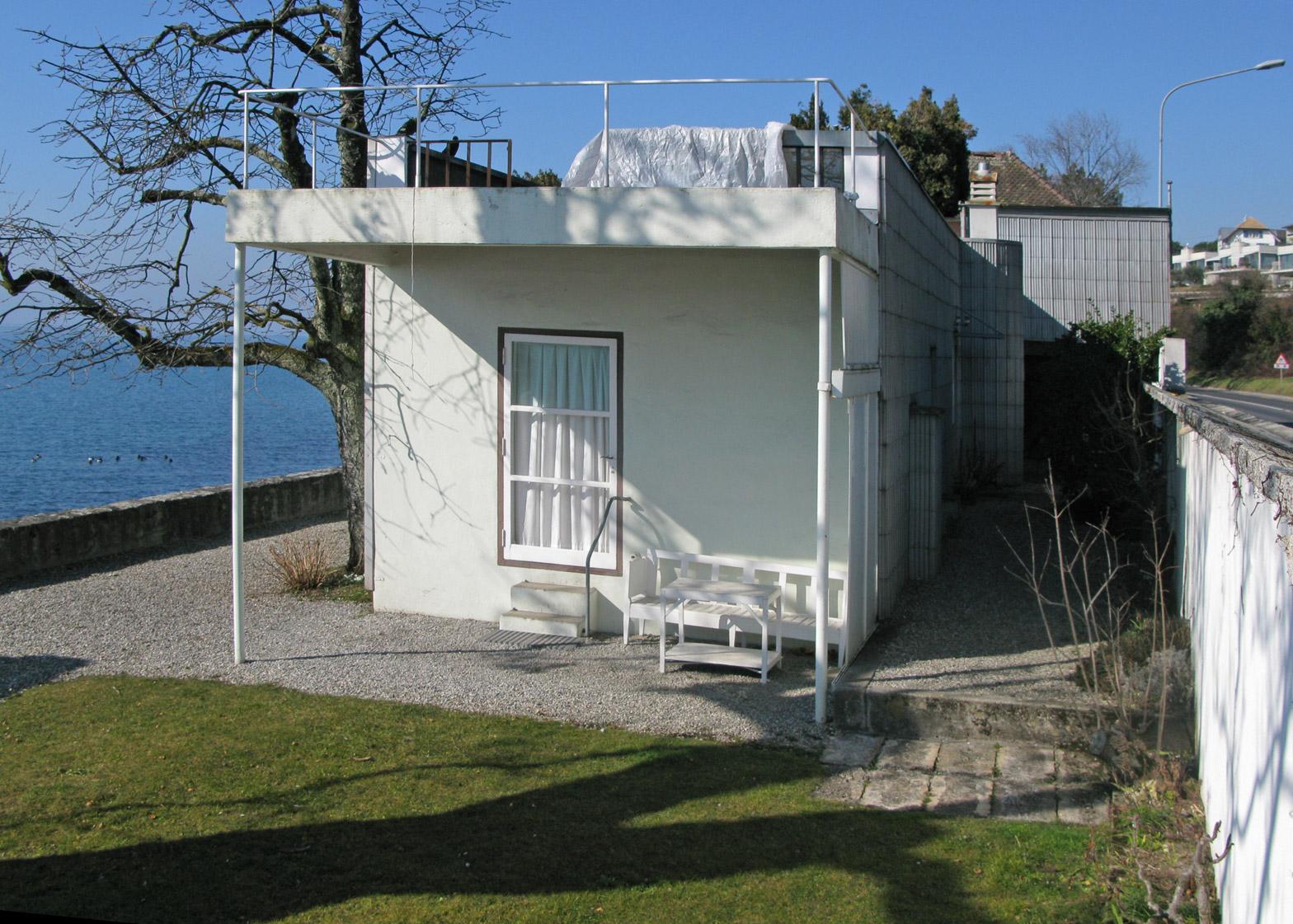 Le Corbusier's Villa Le Lac by Villa Le in Corseaux, Switzerland