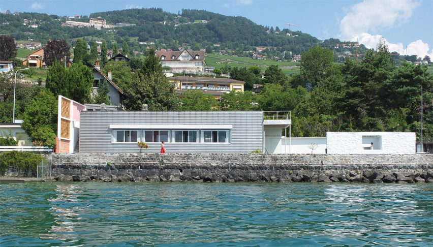 Le Corbusier's Villa Le Lac by Villa Le in Corseaux, Switzerland