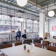 Gort Scott transforms 1960s block in London to create co-working and maker spaces