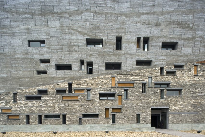Ningbo History Museum by Amateur Architecture Studio