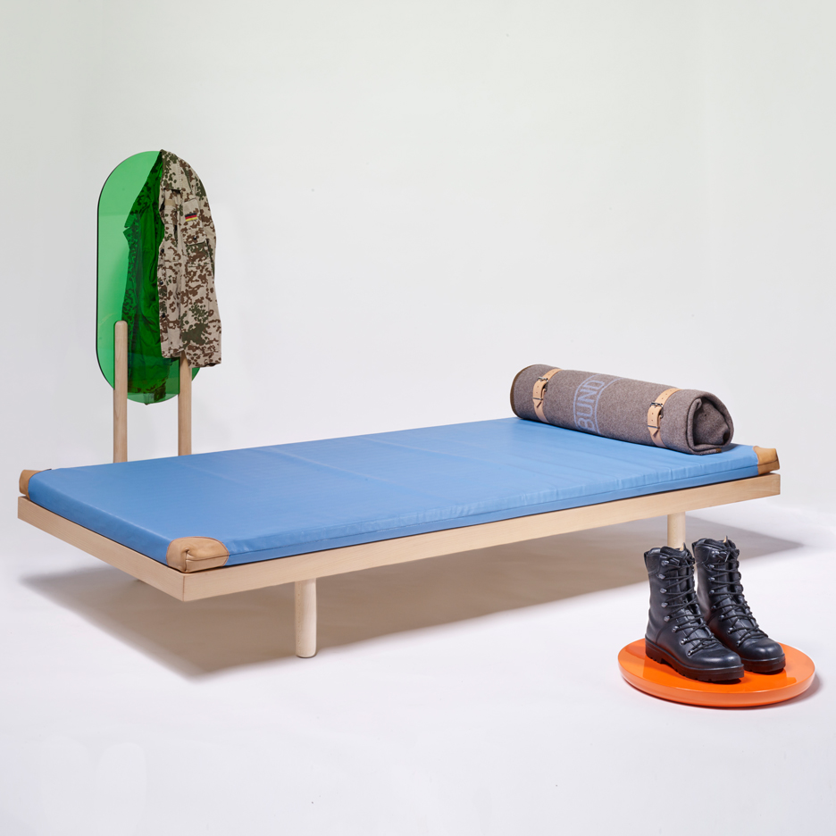Frieder Bohaumilitzky designs furniture to bring comfort to the German military