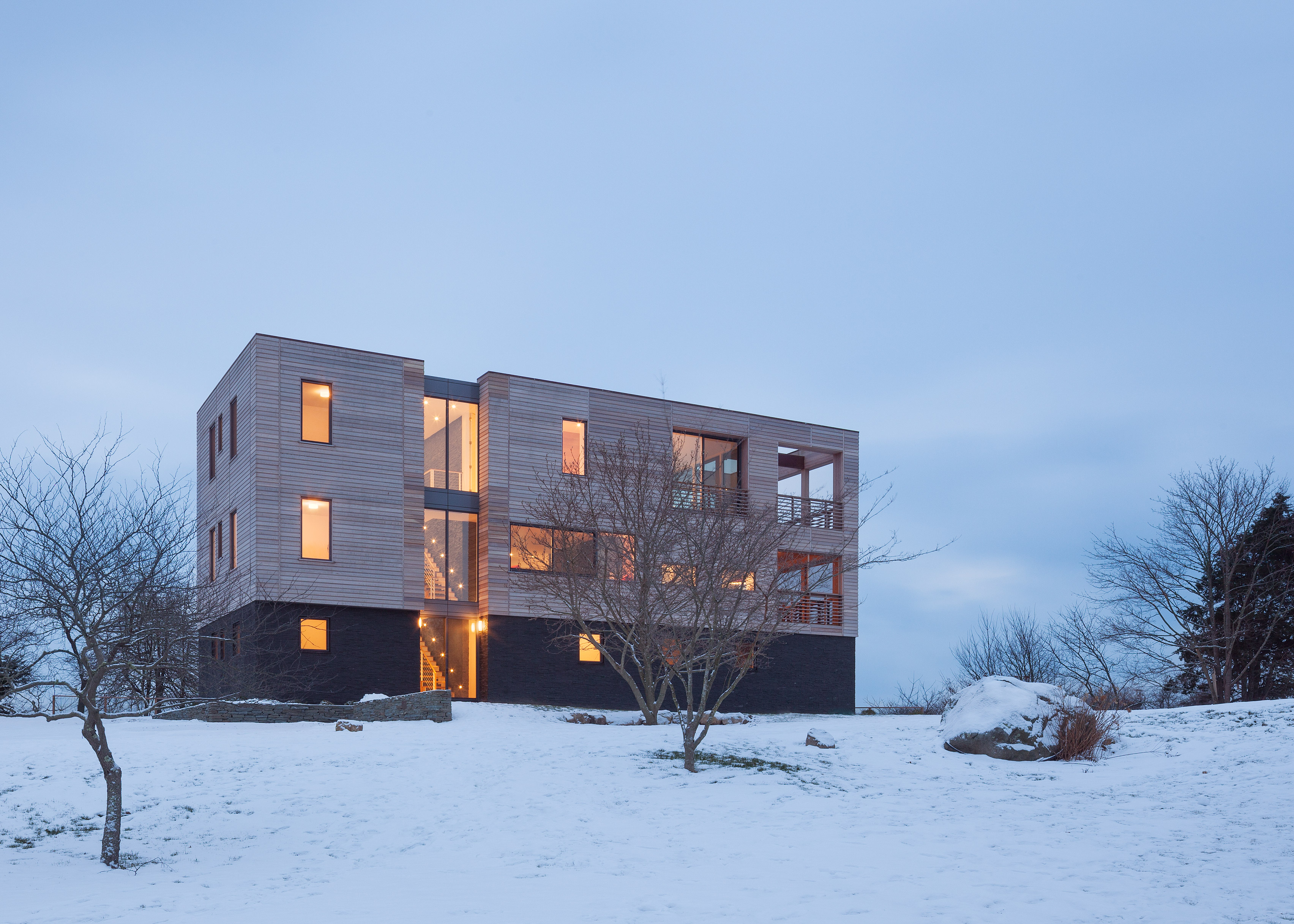 Watch Hill House by Lubrano Ciavarra Architects
