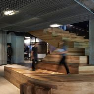 Woods Bagot designs its own Melbourne architecture office to encourage staff to socialise