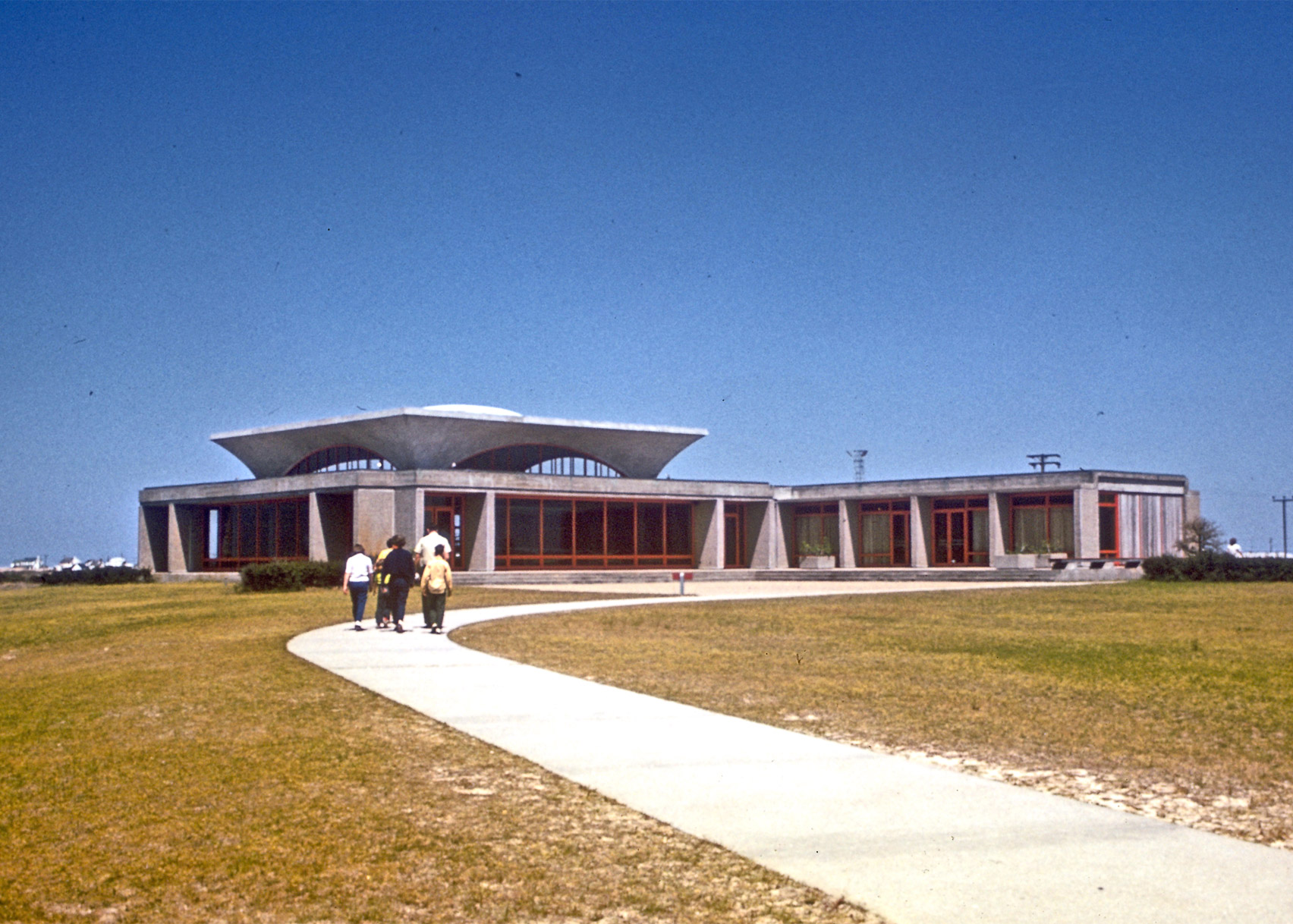 Wright Brothers National Memorial Visitor Center by Rogers & Poor, 1966