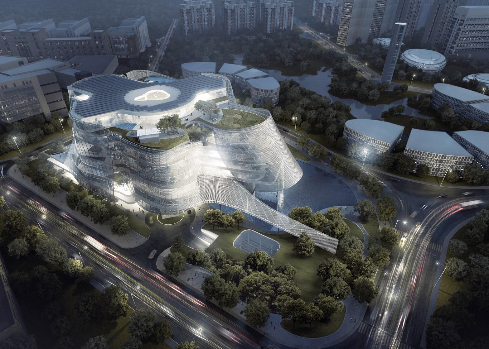 MAD architects designs Xinhee Design Centre
