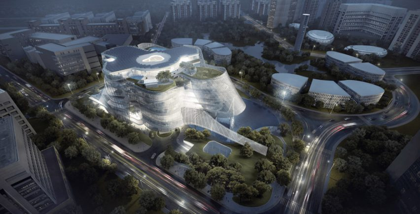 MAD architects designs Xinhee Design Centre