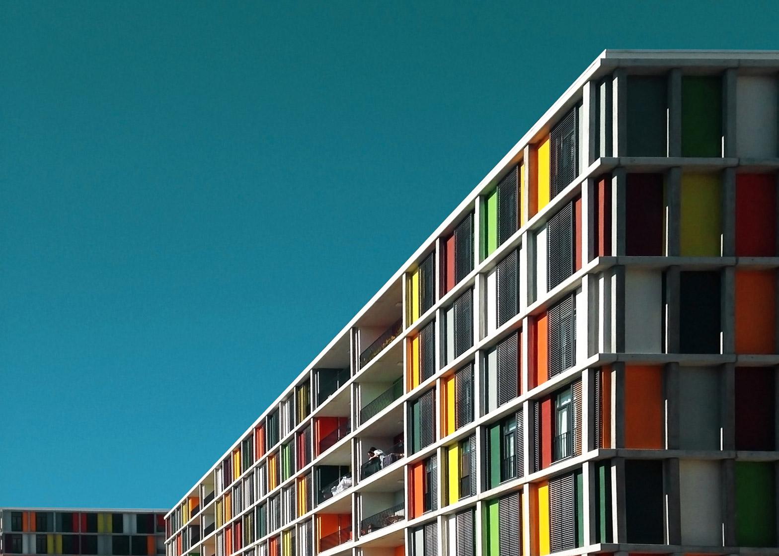 Yener Torun photograph's of vibrant modern architecture in Turkey