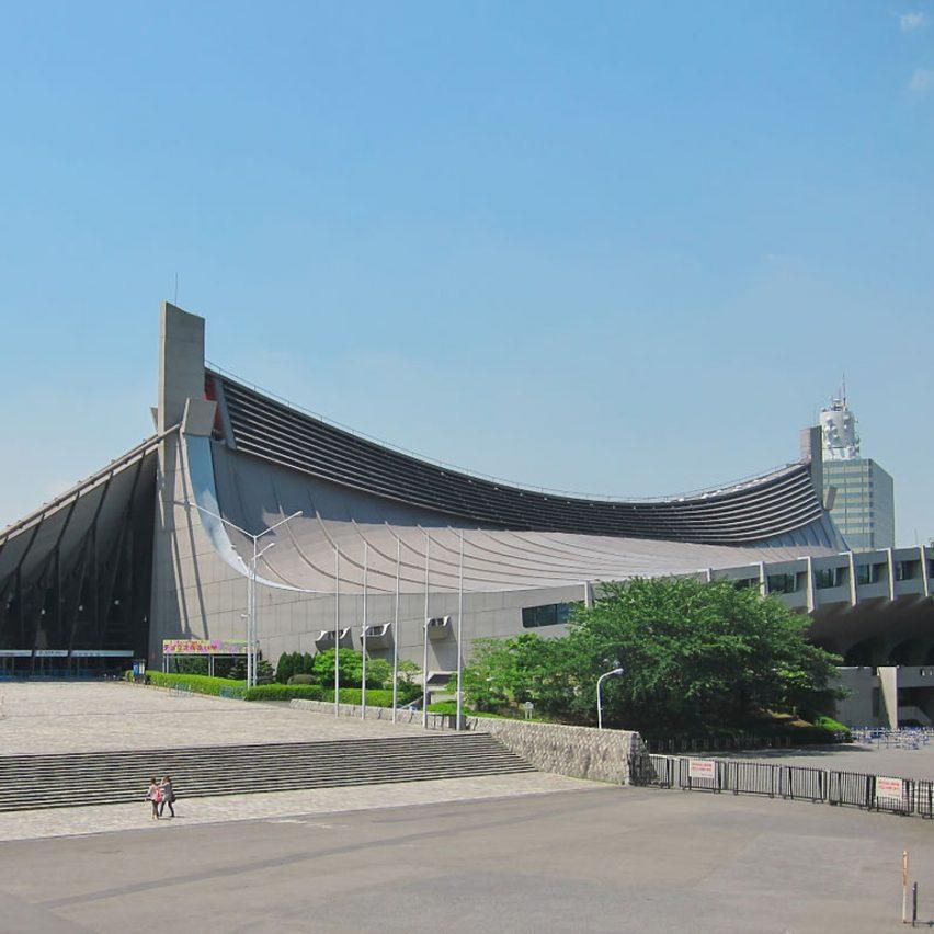 Yoyogi National Gymnasium by Kenzo Tange, Tokyo 1964
