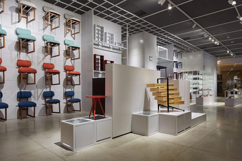 ZaoZuo showroom by Luca Nichetto