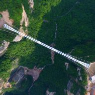 World's tallest and longest glass bridge opens in China