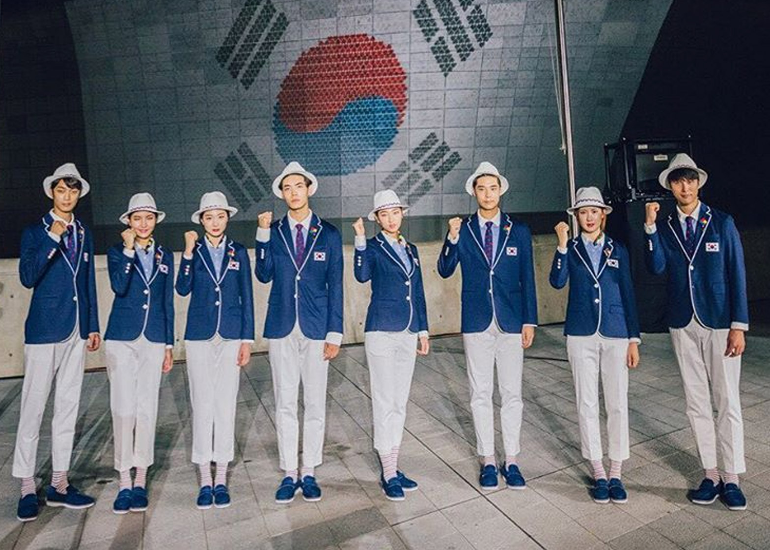 South Korea's Zika-proof Olympic uniforms
