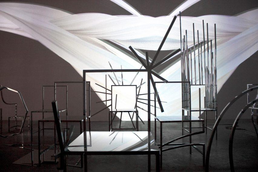 50 manga chairs by nendo