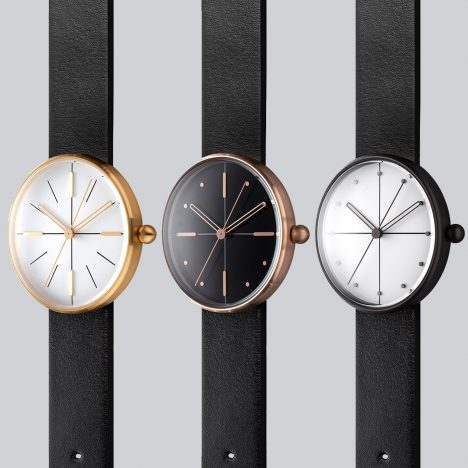 AÃRK experiments with circular forms to create new Dome watch