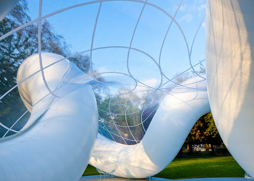 Peace Pavilion, UK, by Atelier Zündel Cristea