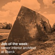 Job of the week: senior interior architect at Starck