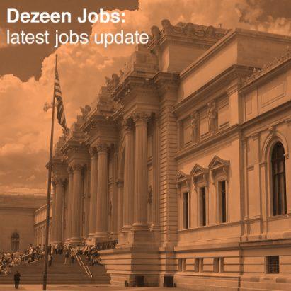 Dezeen Jobs architecture and design recruitment