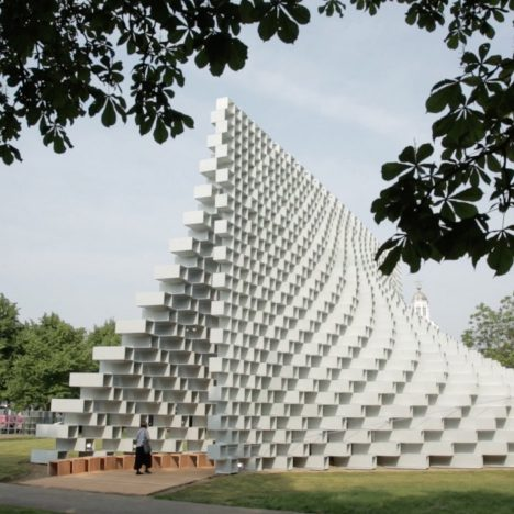 BIG and Fiberline reveal manufacturing process behind Serpentine Gallery Pavilion 2016