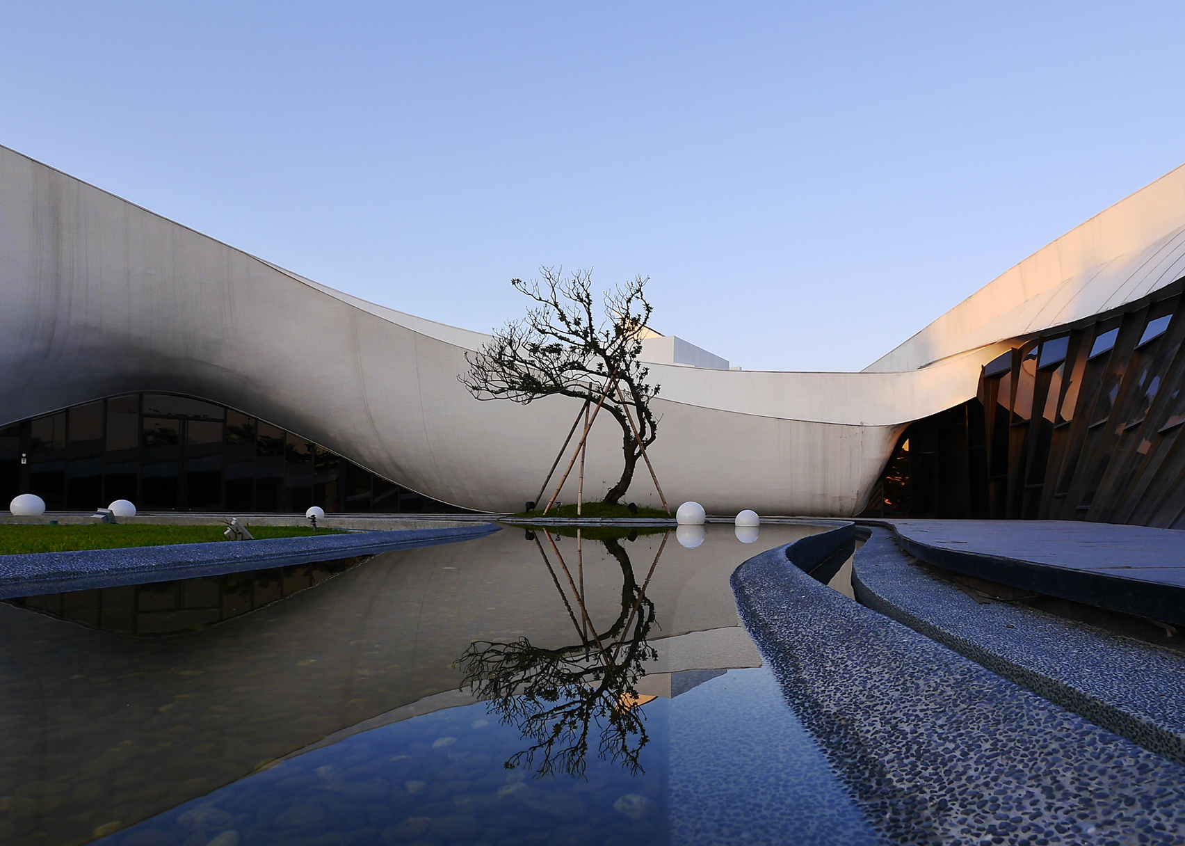 Flowing Tai Chi by Chih-Kai, Kang – Golden A' Architecture, Building and Structure Design Award in 2016