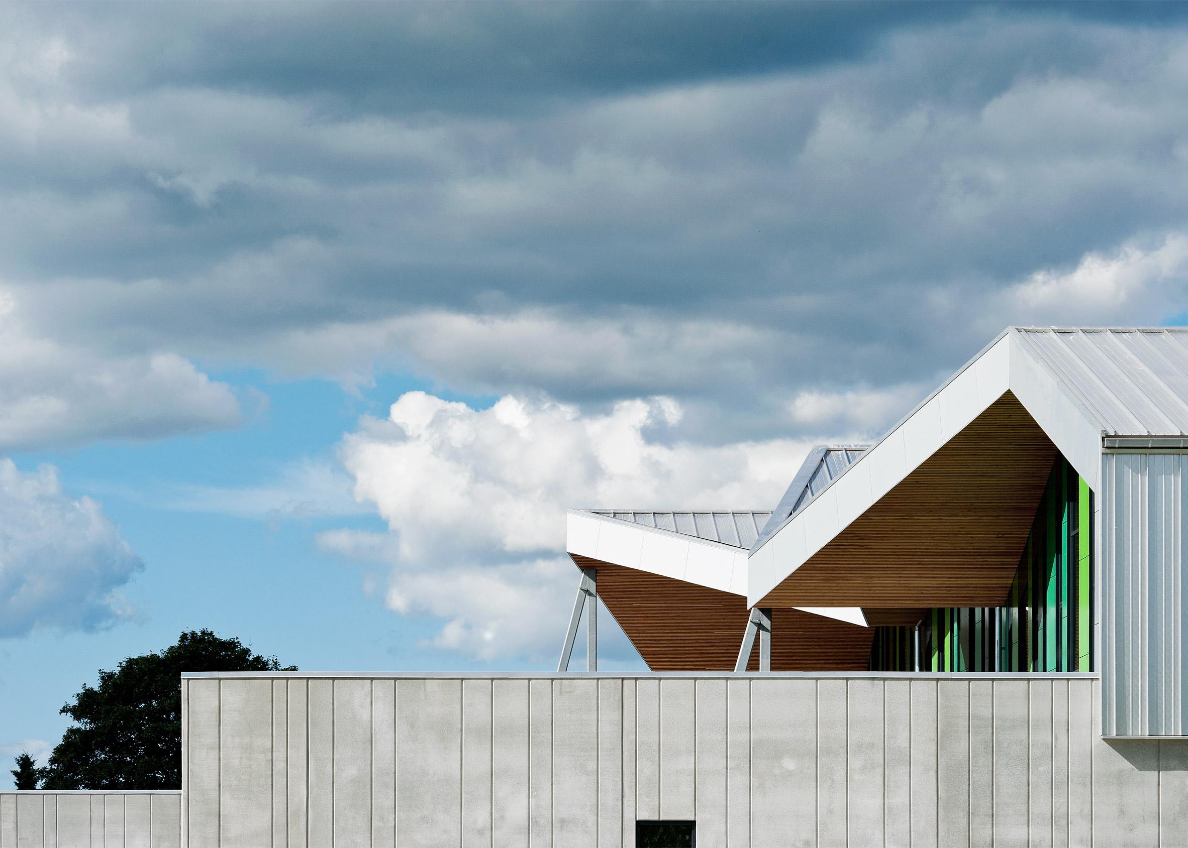Aabybro School by CEBRA Architecture