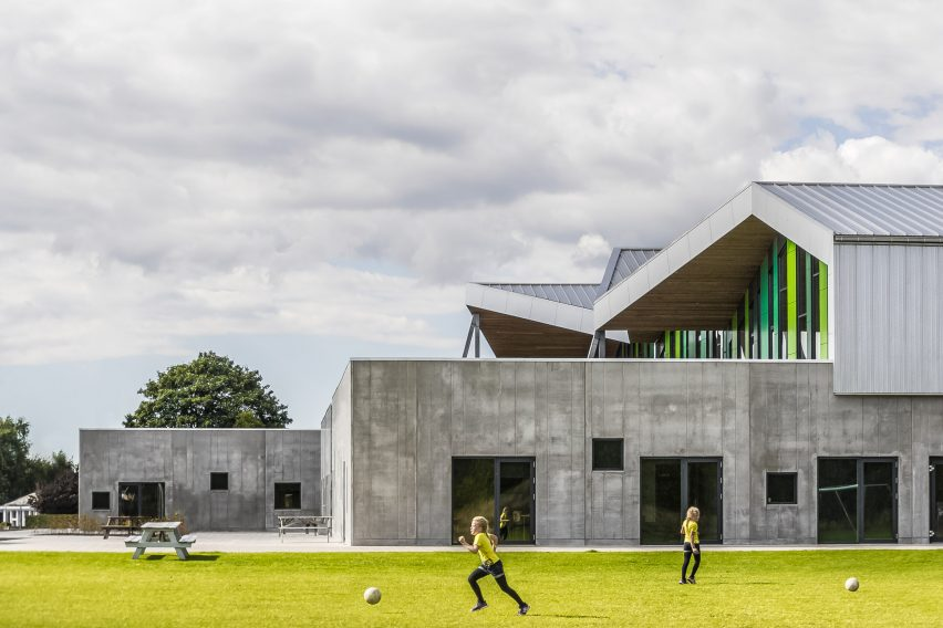 Aabybro School by CEBRA Architecture