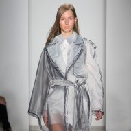 Dezeen's top five collections from Parsons 2016 MA graduate fashion show