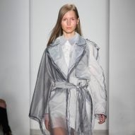 Alex Huang's graduate fashion collection from Parsons School of Design