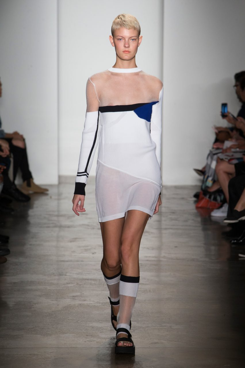 Anna-Maroe Gurber's graduate fashion collection from Parsons School of Design