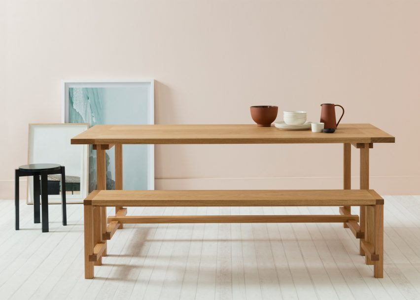 Another Country furniture at the London Design Festival 2016
