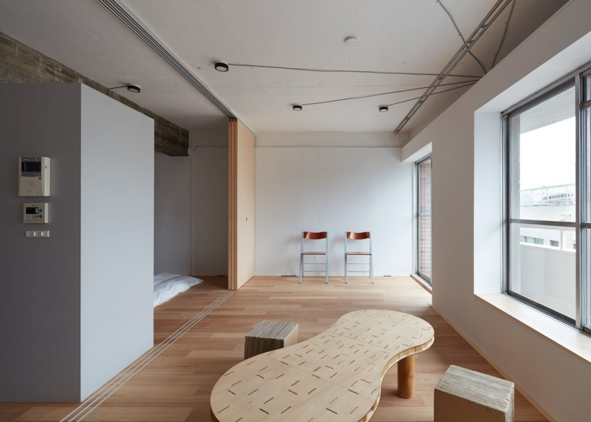 apartment in akasaka by frontofficetokyo - Minimalist Apartment Design